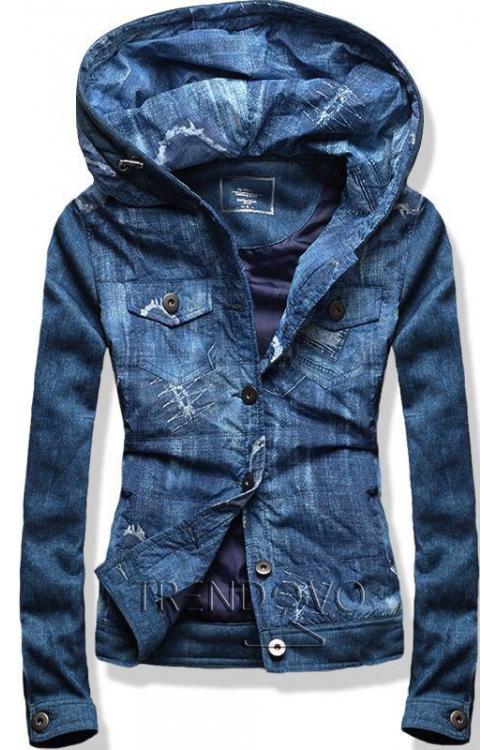 6276628d8 -42% Tmavě modrá krátká bunda
