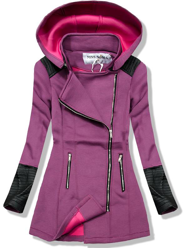 Fialový kabát 1503
