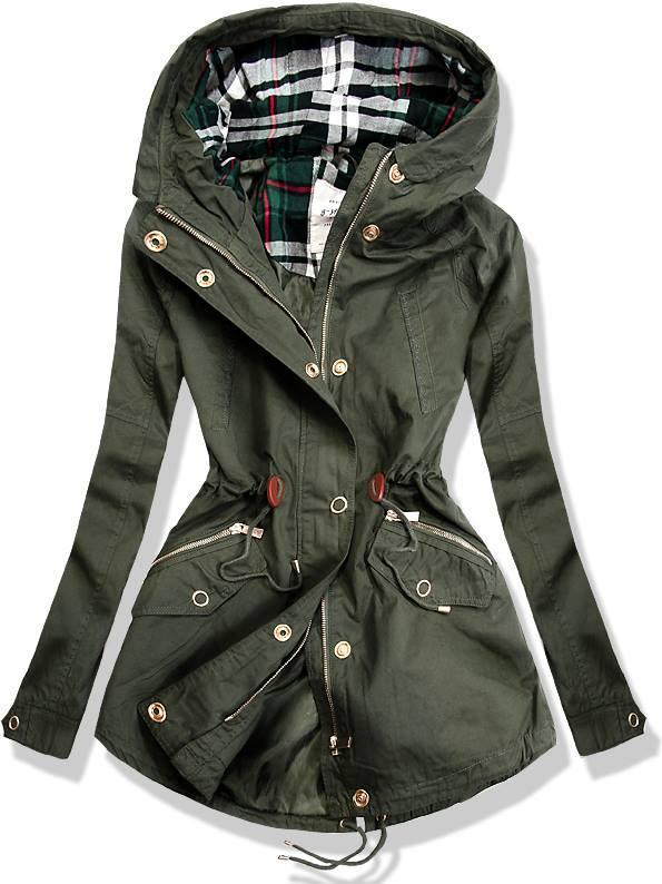 Zelená bunda M-6068
