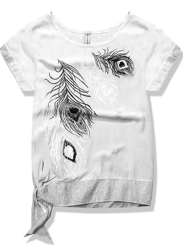 Bílé tričko 2923