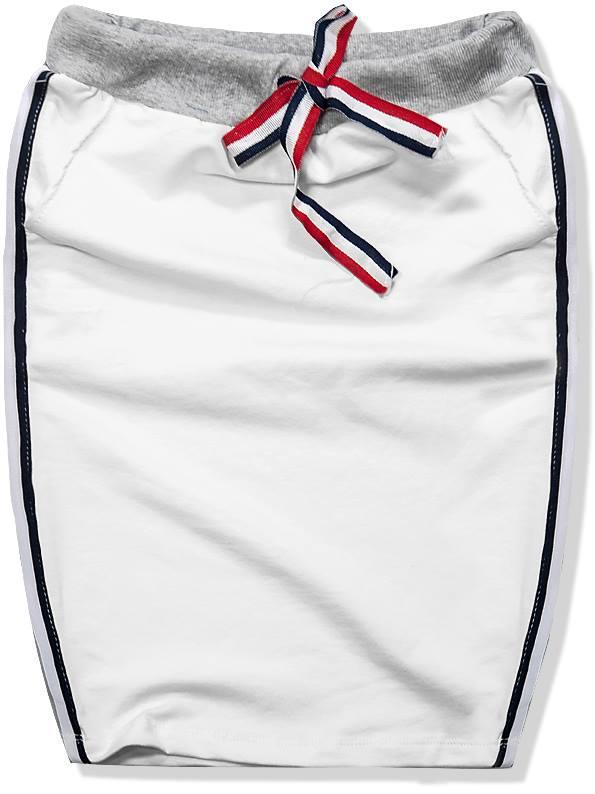 Bílá sukně 9665R