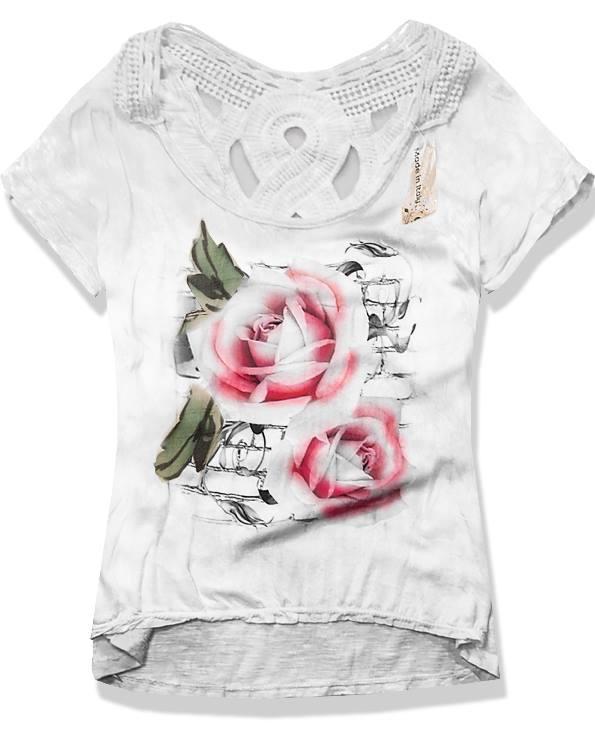 Bílé tričko 9067B