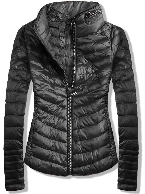 Černá bunda V-3860